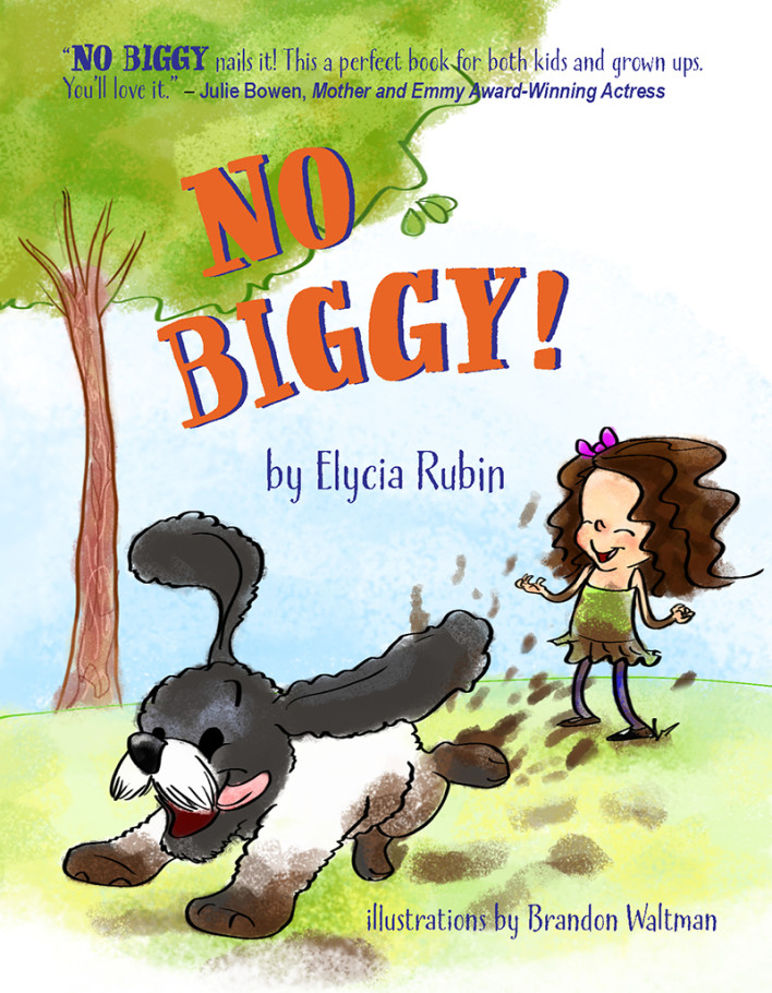 The Launch of my new children's book, NO BIGGY!