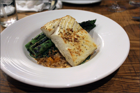 Hearth Roasted Halibut at California Pizza Kitchen