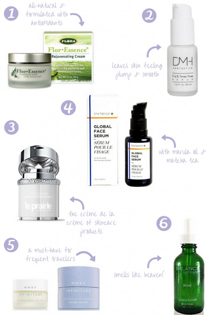Skincare, anti-aging, serums